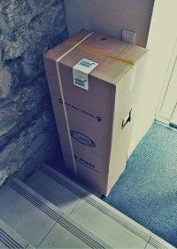 biuro spakowane w kartony - przeprowadzka