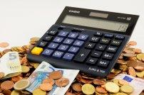 pieniądze, kalkulator, podatki